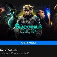 Descarga gratis Hitman, Shadowrun Collection y 3 out of 10 desde la Epic Games Store