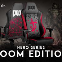 Noblechairs anuncia su nueva silla gaming HERO Gaming Chair – DOOM Edition!