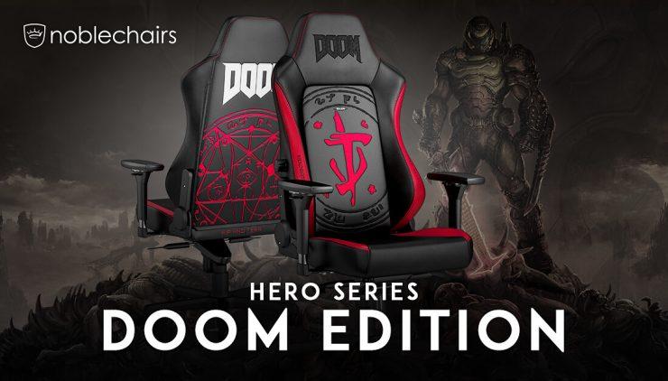 HERO Gaming Chair - DOOM Edition!