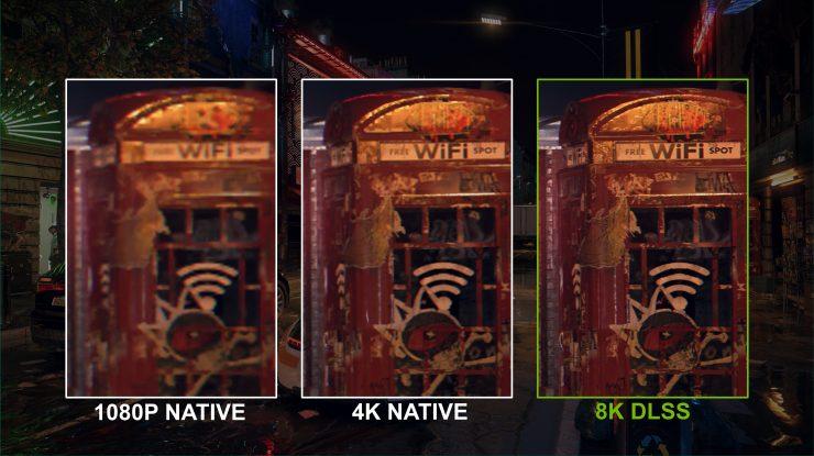 8K DLSS vs 1080p nativos GeForce RTX 30 740x415 0