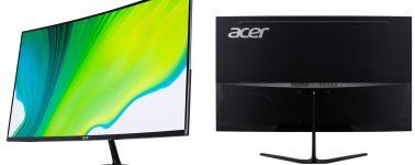 Acer ED320QRPbiipx: VA de 31.5″ a una resolución Full HD @ 165 Hz
