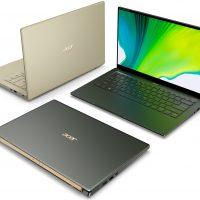 Acer anuncia sus nuevos portátiles Swift 3 y Swift 5 con CPUs Tiger Lake a partir de 699 euros