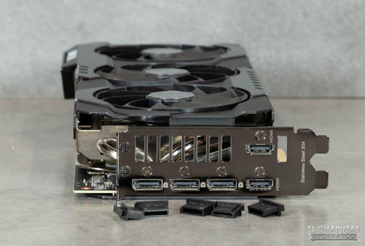 Bracket de la Asus TUF GeForce RTX 3080 OC
