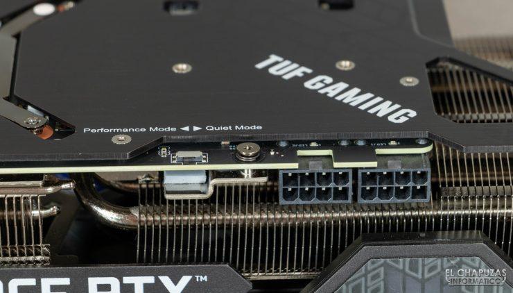 Alimentación de la Asus TUF GeForce RTX 3080 OC