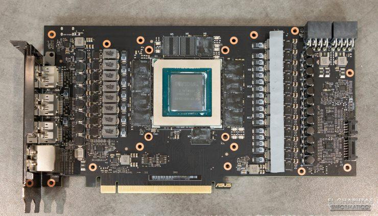 PCB Asus TUF GeForce RTX 3080 OC