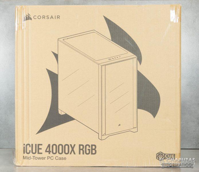 Corsair iCUE 4000X RGB - Embalaje 1