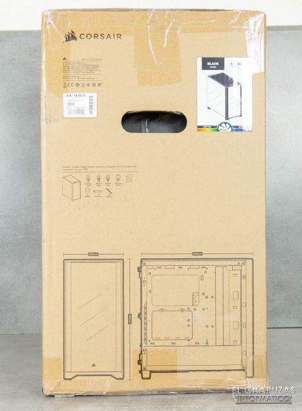 Corsair iCUE 4000X RGB - Embalaje 3