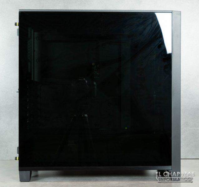 Corsair iCUE 4000X RGB - Lateral principal