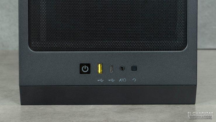 Corsair iCUE 4000X RGB - Conectores