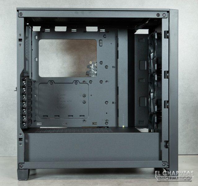 Corsair iCUE 4000X RGB - Interior
