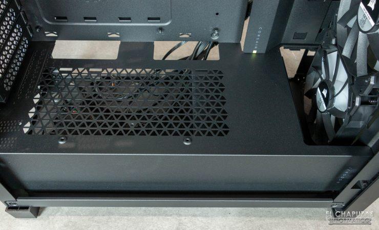 Corsair iCUE 4000X RGB - Carenado fuente