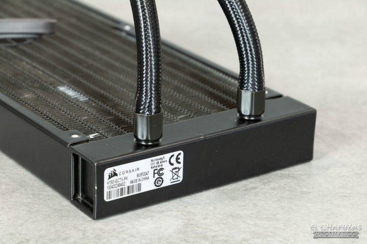 Corsair iCUE H150i Elite Capellix - Radiador tubos