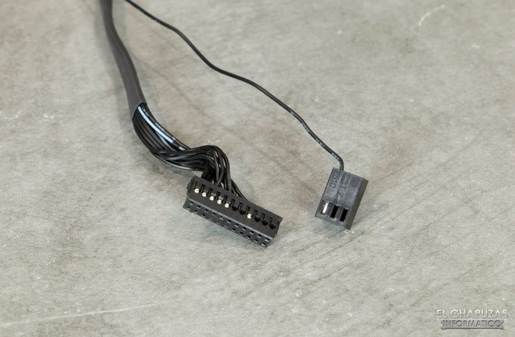 Corsair iCUE H150i Elite Capellix - Conectores