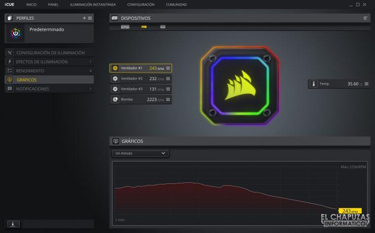 Corsair iCUE H150i Elite Capellix - Software 4