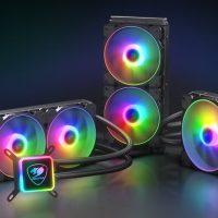 Cougar Aqua ARGB: Líquidas de 240, 280 y 360 mm repletas de iluminación ARGB