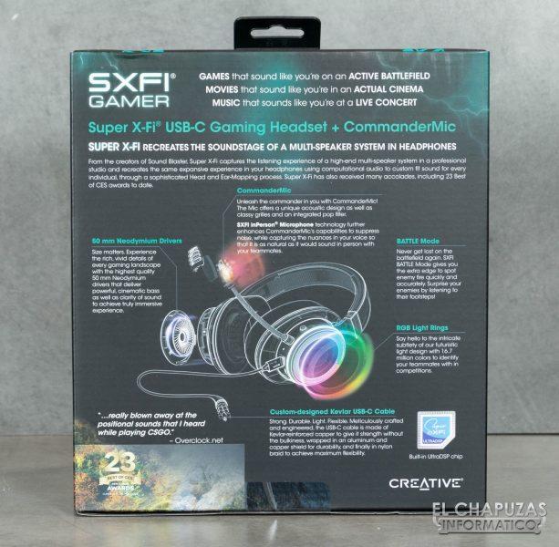 Creative SXFI Gamer - Embalaje 2