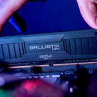 Micron anuncia sus kits de memoria gaming Crucial Ballistix MAX 5100