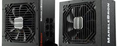 Enermax MarbleBron: Fuentes de alimentación 80 Plus Bronze con diseño semimodular