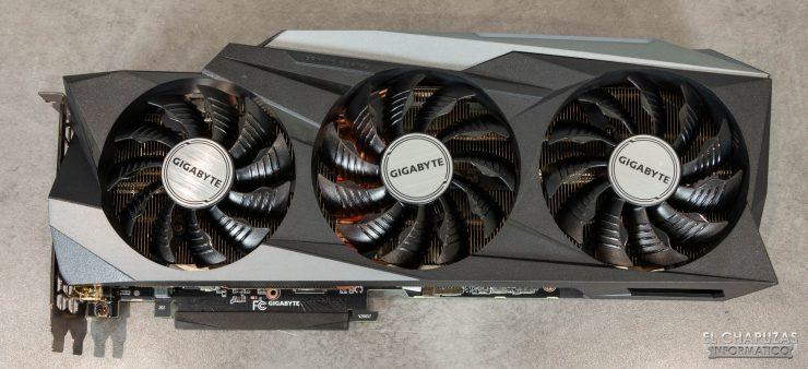 Gigabyte GeForce RTX 3080 Gaming OC 10G - Vista superior