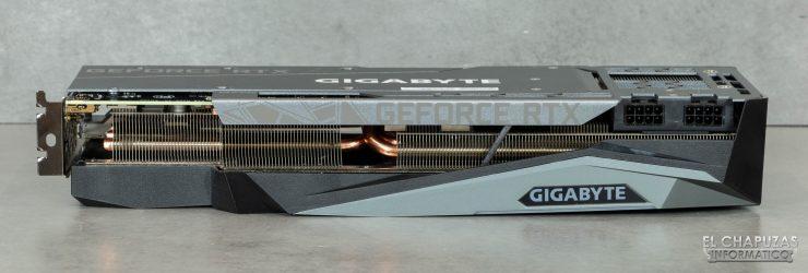 Gigabyte GeForce RTX 3080 Gaming OC 10G - Vista lateral
