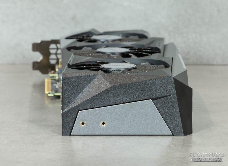 Gigabyte GeForce RTX 3080 Gaming OC 10G - Margen posterior