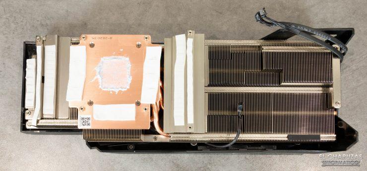Gigabyte GeForce RTX 3080 Gaming OC 10G - Disipador