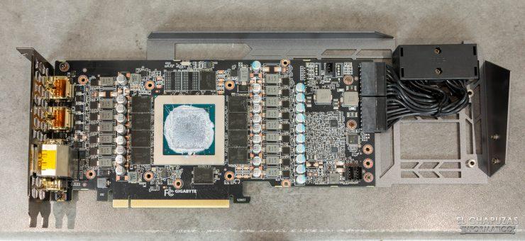 Gigabyte GeForce RTX 3080 Gaming OC 10G - PCB frontal
