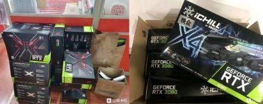 Ya están usando las GeForce RTX 3080 para minar Ethereum: Hasta 4x veces más rápida vs RTX 2080
