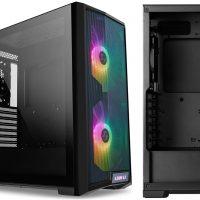 Lancool 215: Semitorre con frontal mesh + 2x ventiladores RGB de 200mm a precio agresivo