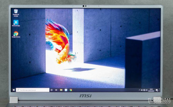 MSI Creator 17 A10SGS - Pantalla