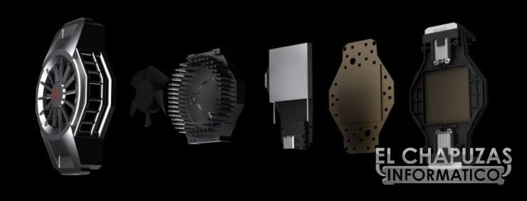 Nubia Red Magic 5S - Sistema de refrigeración exterior