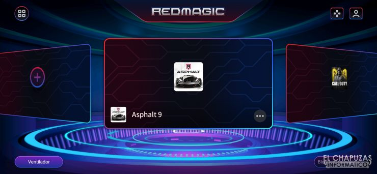 Nubia Red Magic 5S - Game Space 2.1