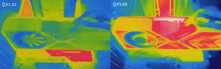 GeForce RTX 3080 Founders Edition con cámara térmica