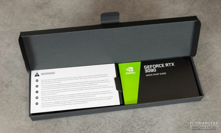 Nvidia GeForce RTX 3090 Founders Edition - Embalaje 4