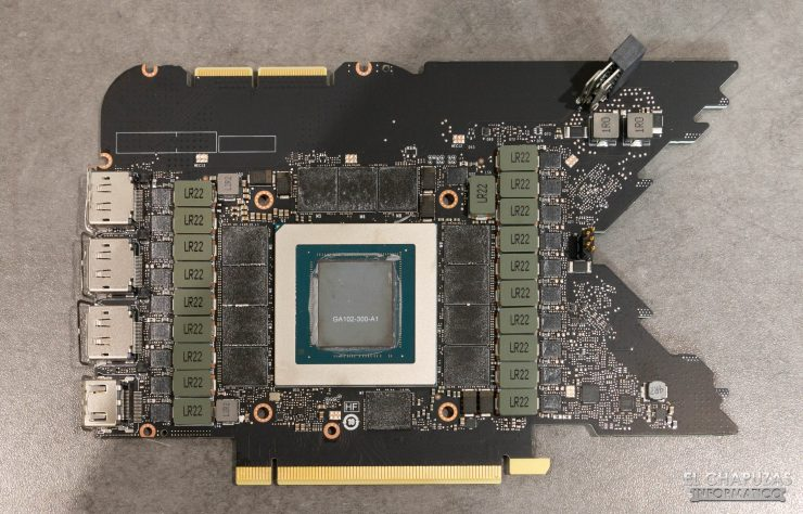Nvidia GeForce RTX 3090 Founders Edition - PCB Frontal