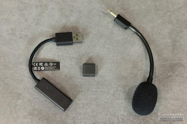 Razer BlackShark V2 - Micrófono y tarjeta de sonido