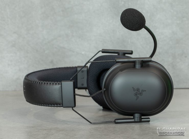 Razer Blackshark V2 Pro - Regulación en altura