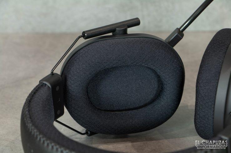 Razer Blackshark V2 Pro - Almohadillas