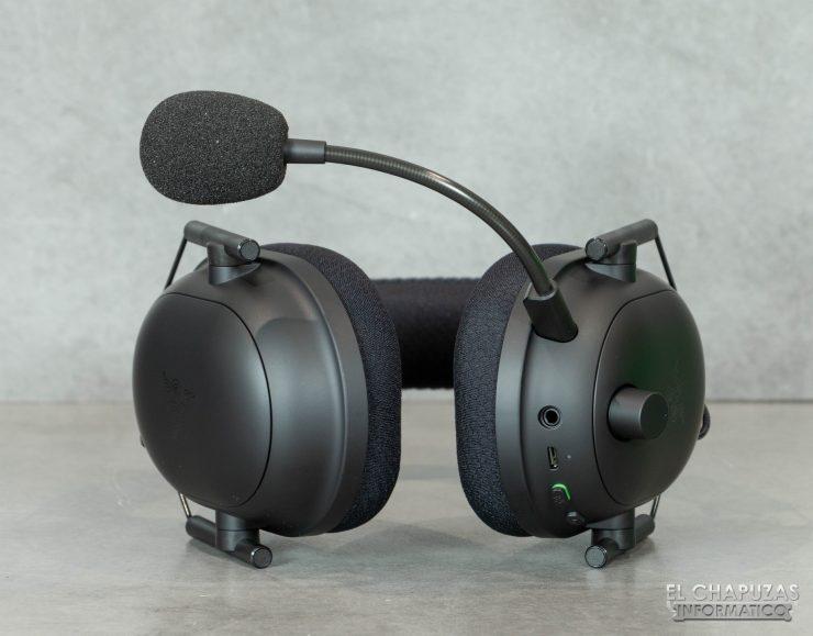 Razer Blackshark V2 Pro - Vista inferior