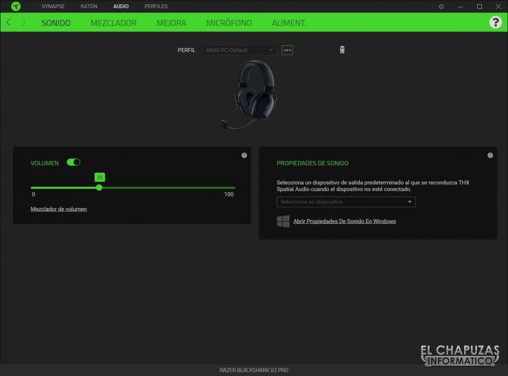 Razer Blackshark V2 Pro - software 1