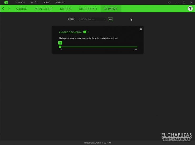 Razer Blackshark V2 Pro - software 5