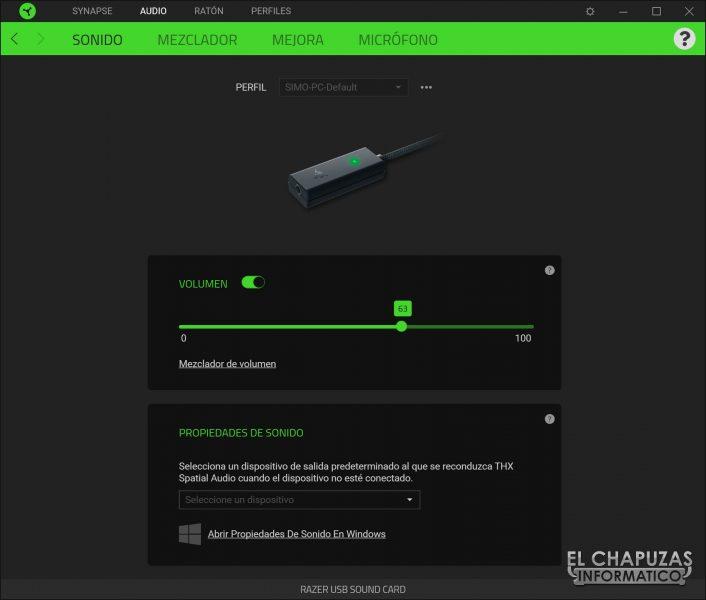 Razer BlackShark V2 - Software 1