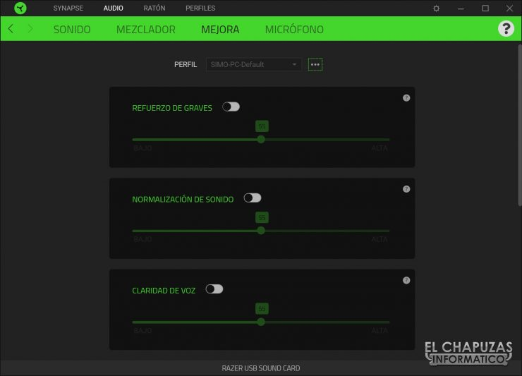 Razer BlackShark V2 - Software 4