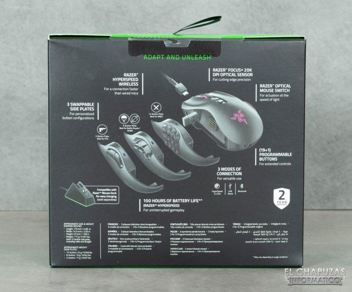 Razer Naga Pro - Embalaje 2