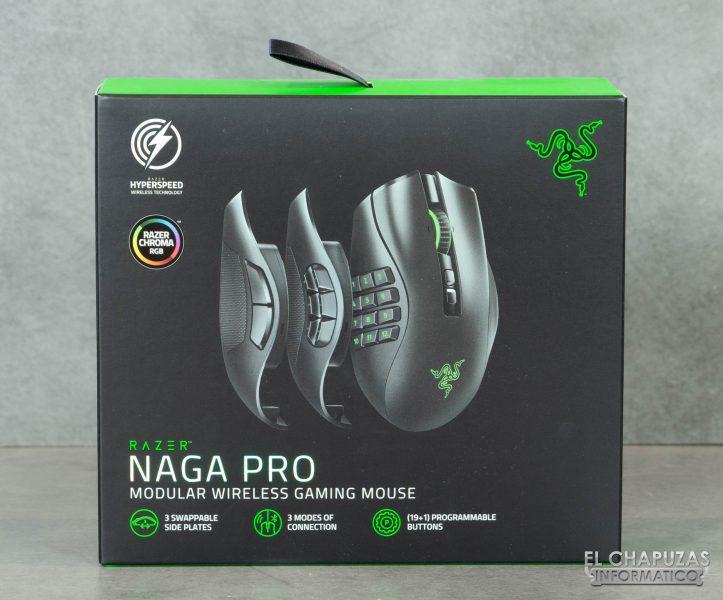 Razer Naga Pro - Embalaje 1