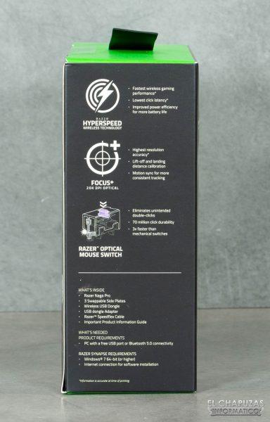 Razer Naga Pro - Embalaje 3