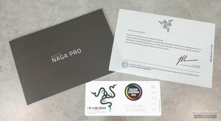 Razer Naga Pro - Accesorios 1