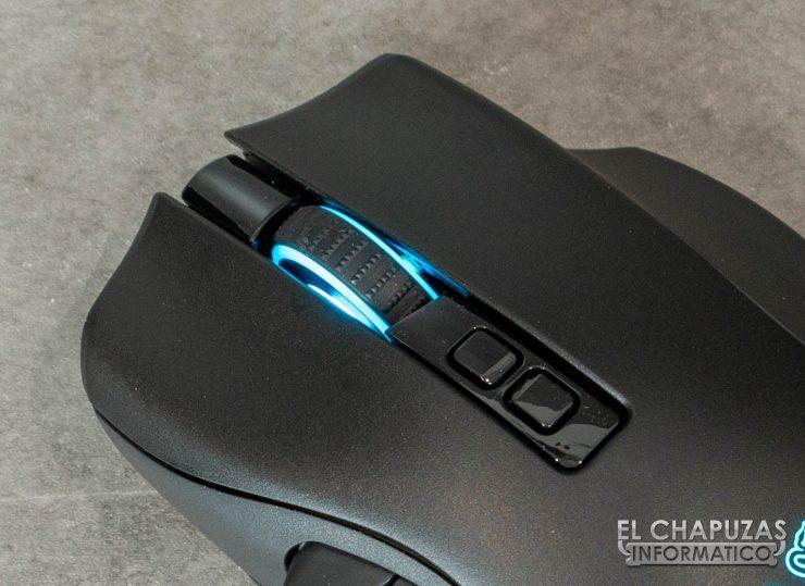 Razer Naga Pro - Botones principales