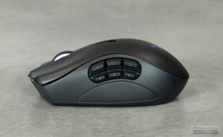 Razer Naga Pro - Tapa 6 botones