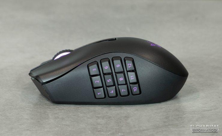 Razer Naga Pro - Tapa 12 botones